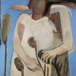 Gewächse, 2004, Acryl/Schellack auf Holzfaserplatte, 80 x 80 cm