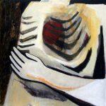 Innenraum, 2005, Acryl/Schellack auf Holzfaserplatte, 80 x 80 cm