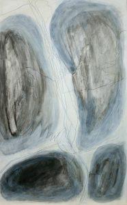 Matrei, 2011, Acryl/Graphit/Kohle/Schellack auf MDF, 50 x 30 cm