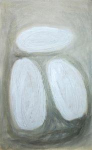 obere Wiese, 2011, Acryl/Graphit/Kohle/Schellack auf MDF, 50 x 30 cm