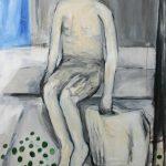 shiver / unterwegs, 2011, Acryl auf Leinwand, 150 x 100 cm