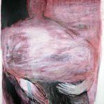 Wolke, 2013, Acryl/Pigmente auf Leinwand, 157 x 118 cm